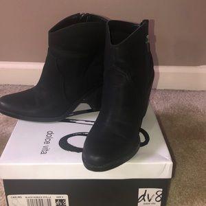Black Nubella Stella Boots
